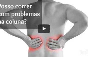 É possível correr com hérnia de disco ou outros problemas de coluna?